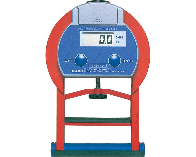 握力計 グリップD T-2177 5~100kg用 トーエイライト 【送料無料】【smtb-kd】【介護用品】【介護用品】【レクリエーション 体力測定用品 握力計 デジタル スメドレー式】