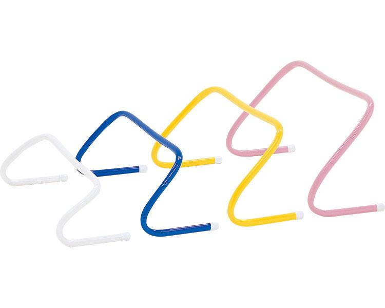 フレキシブルハードル15 G-1590 5台1組 トーエイライト 【介護用品】【レクリエーション ミニハードル SAQトレーニング 介護予防 リハビリ 歩行訓練 屋内外兼用 介護用品】