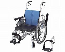 車椅子 キックル 日進医療器介護用品 車いす 自走式車椅子 車イス 歩行補助 福祉用具 高齢者 足こぎ