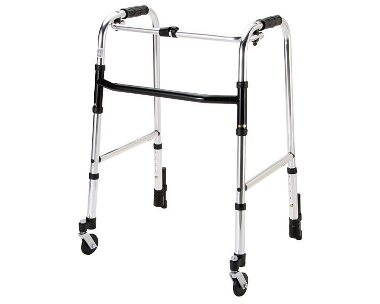 歩行器 介護 歩行器固定型 前輪自在キャスター付 HK-120 マキテック歩行補助 歩行車 手押し車 高齢者 介護 老人 介護用品