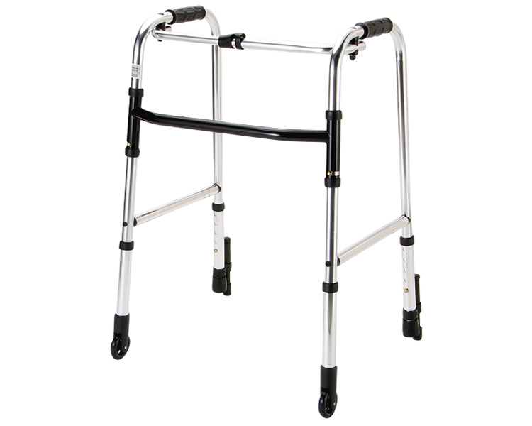 歩行器 介護 歩行器固定型 前輪固定キャスター付 HK-110 マキテック歩行補助 歩行車 手押し車 介護 高齢者 老人 介護用品