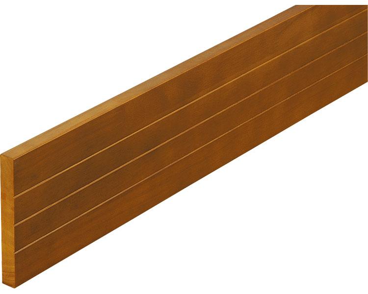 木製ベースプレート 12cm幅 4m マツ六 【介護用品】