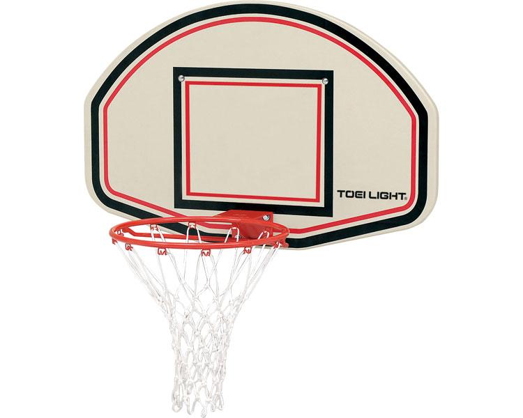 バスケットゴール壁取付式/B-3833 トーエイライト 【介護用品】【レクリエーション ゲーム バスケット ゴール 室内 屋外 家庭用 競技用品 ボード】