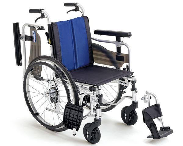 車椅子 アルミ自走車いす BAL-5 ミキ車いす 車イス 介護用品