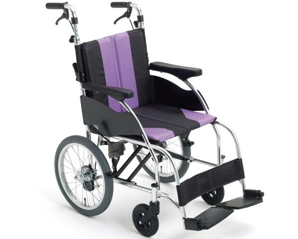 車椅子 折り畳み モジュール車いす アルミ介助車いす UR-2 ミキ車イス モジュール車いす ソフトシート 介護用品 在宅介護 施設