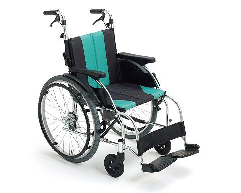 車椅子 折り畳み モジュール車いす アルミ自走車いす UR-1 ミキ車イス モジュール車いす ソフトシート 介護用品 在宅介護 施設