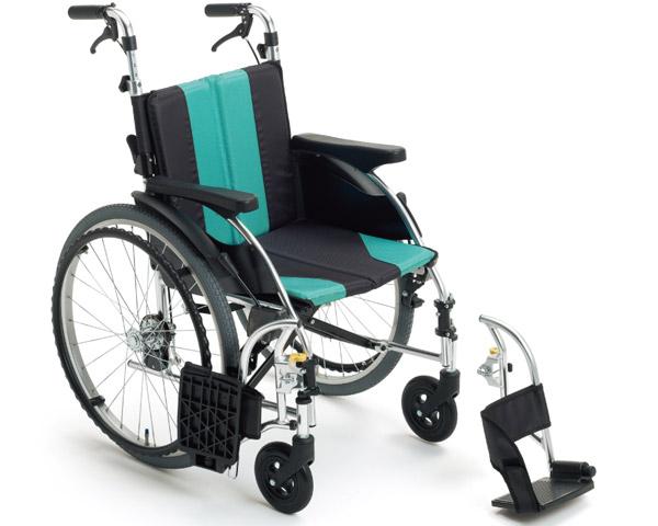 車椅子 折り畳み モジュール車いす アルミ自走車いす UR-3 ミキ車イス モジュール車いす ソフトシート 介護用品 在宅介護 施設
