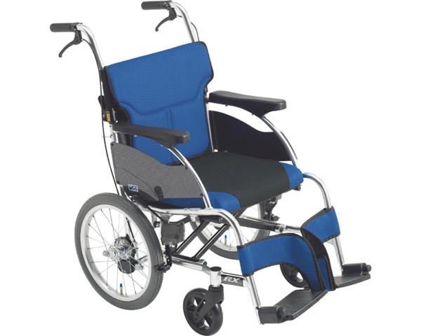 車椅子 折り畳み 低座面 アルミ介助車いす RXC-1Lo ミキ車イス 介助用 介助型 低床タイプ 折りたたみ スタイリッシュ シンプル 介護用品