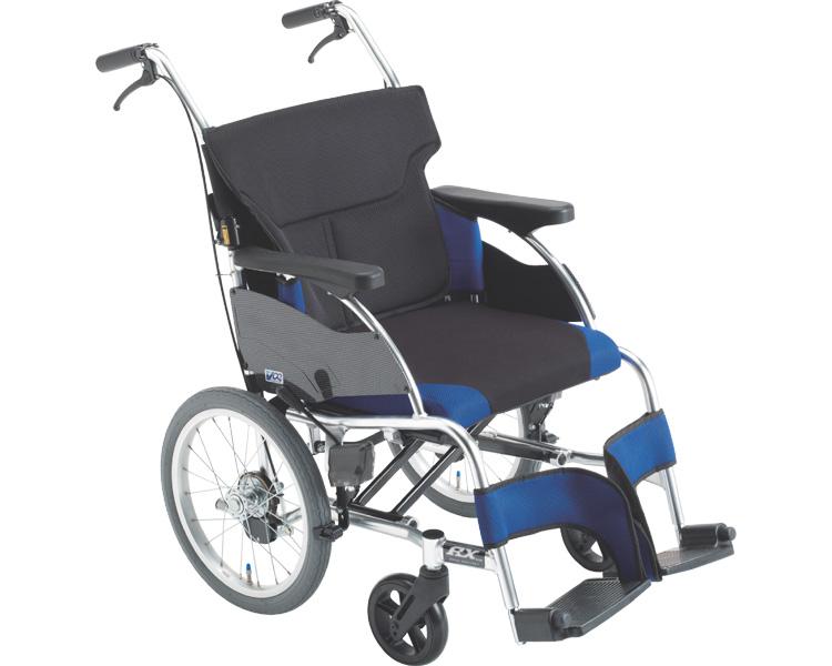 車椅子 アルミ介助車いす 低床タイプ RXC_ABS Lo ミキ介助用 介助式 車イス 低座面 スタイリッシュ ABS仕様 介護用品 福祉用具