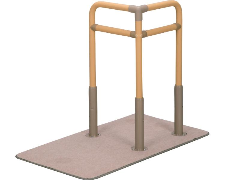 手摺り ベストサポート手すり 625-030 長さ90.5cm シコクささえ 手摺り 導線 てすり プレート付 立ち座り 高齢者 介護用品 便利グッズ
