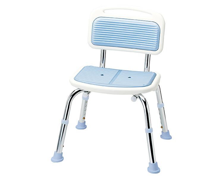 シャワーチェア らくらくシャワーベンチ 背付タイプ SB-91 マキテック風呂椅子 お風呂 椅子 バスグッズ 介護用品 福祉用具