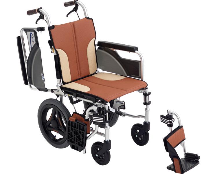 車椅子 アルミ介助車いす スキット SKT-200 ミキアルミ製 介助用 介助式 車イス 折りたたみ コンパクト 介護用品 福祉用具