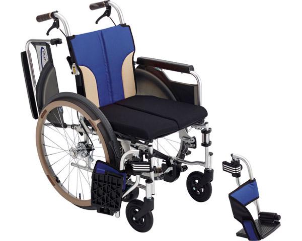 車椅子 とまっティシリーズ アルミ自走車いす スキット SKT-400B ミキアルミ製 自走用 自走式 車イス 折りたたみ 介護用品 福祉用具