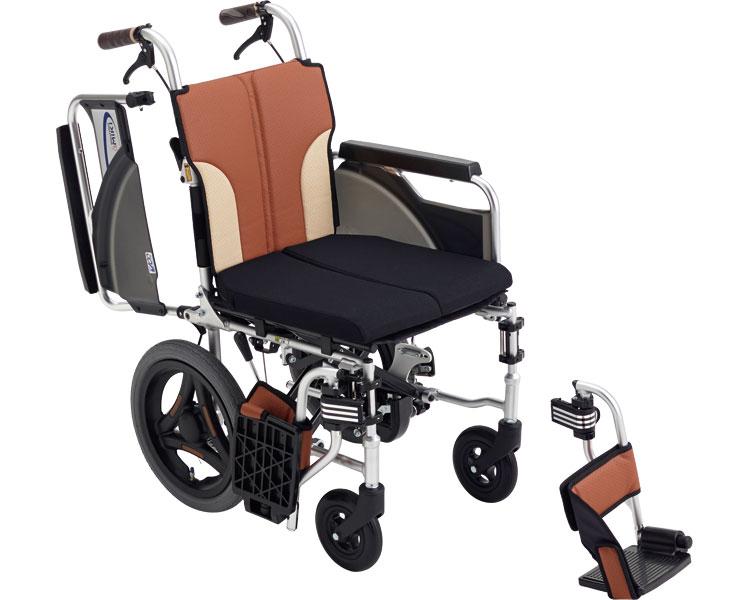 車椅子 とまっティシリーズ アルミ介助車いす スキット SKT-200B ミキアルミ製 介助用 介助式 車イス 折りたたみ 介護用品 福祉用具