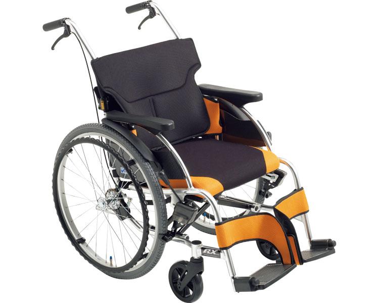 車椅子 アルミ自走車いす 低床タイプ RX_ABS Lo ミキ自走用 自走式 車イス 低座面 スタイリッシュ ABS仕様 介護用品 福祉用具