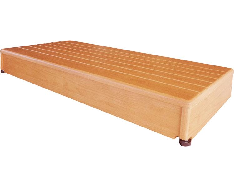 玄関台(木製) 90W-40/640-040 シコク 【介護用品】