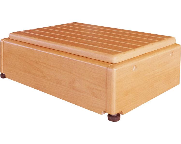 玄関台(木製) 昇降45W-30/640-050 シコク 【介護用品】