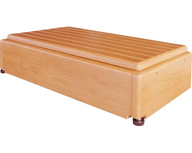 【送料無料】 玄関台(木製) 昇降60W-30/640-060 シコク 【介護用品】