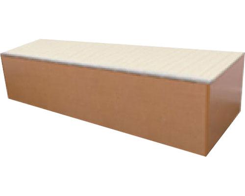 山陽総業 【介護用品】 幅180cm 樹脂畳ユニットボックス(ハイタイプ)/JYB-180