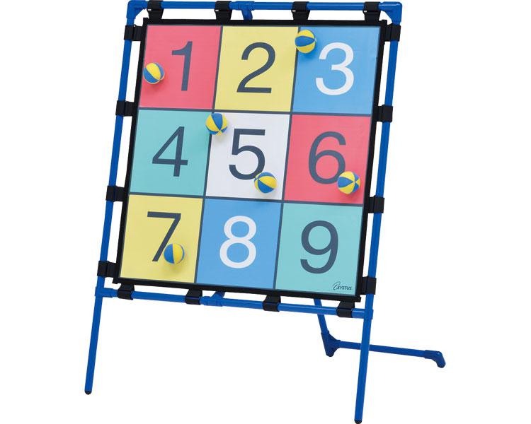 ターゲットゲーム90B B-3916 トーエイライト 【介護用品】【レクリエーション ターゲットゲーム 的あて 体つくり 表現運動 ターゲットゲーム 屋内遊具 ターゲット 屋内外兼用 簡単組立】