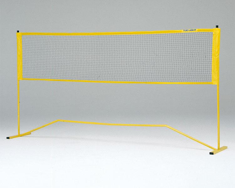 レクリエーションバド&テニス B-4125 トーエイライト送料無料 介護用品 レクリエーション ポール ネット 網 バドミントン テニス 体つくり 表現運動 レクリエーションゲーム 屋内外兼用 簡単組立