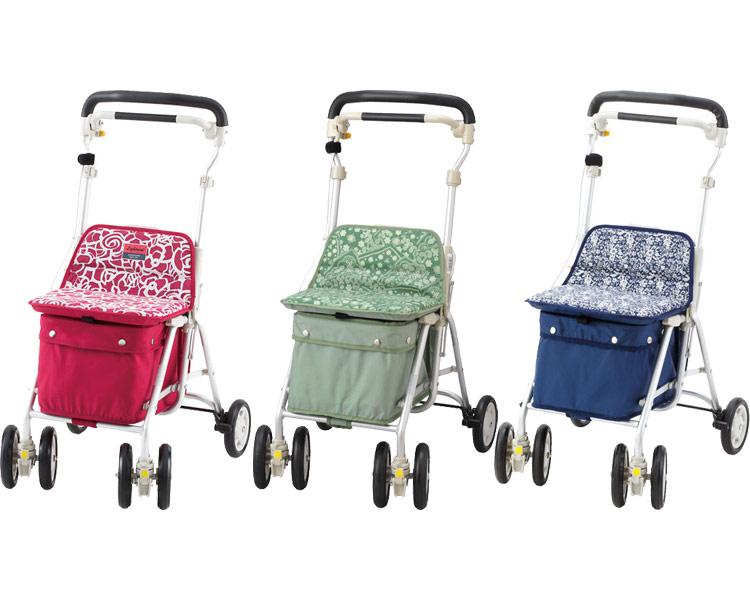 シルバーカー ライトミニM 紺 象印ベビーシルバーカー 手押し車 高齢者 老人 介護用品 人気 歩行補助