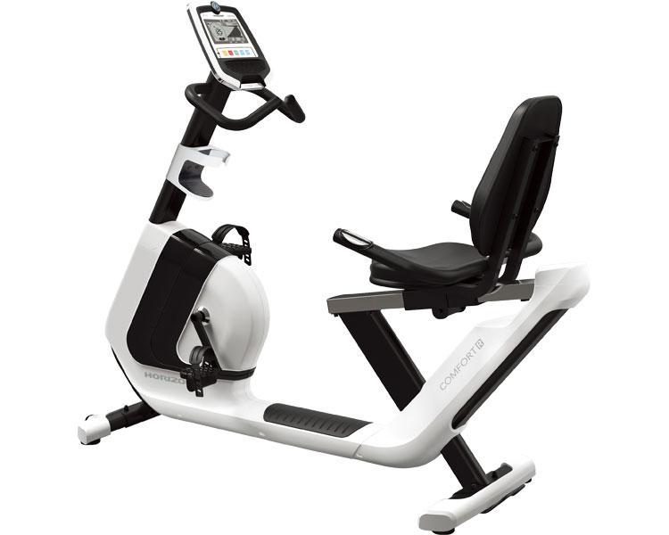 ComfortR(コンフォートアール) ジョンソンヘルステックジャパンフィットネスバイク リカンベントバイク フィットネスマシン ViewFit搭載 家庭用 健康器具 ダイエット器具 介護予防 介護用品