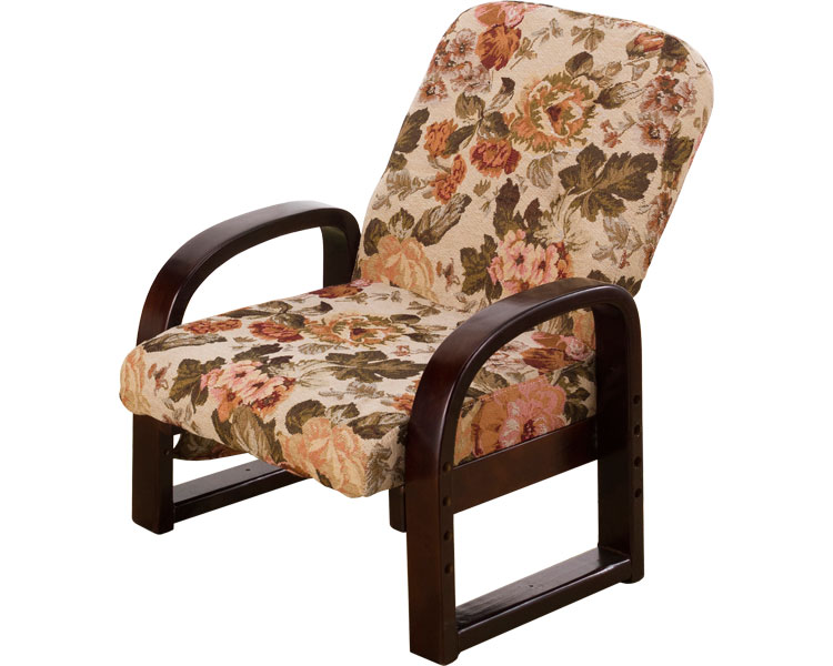 リクライニングやすらぎ座椅子 華 ARYZ-5661A ゴブラン 介援隊介護用品