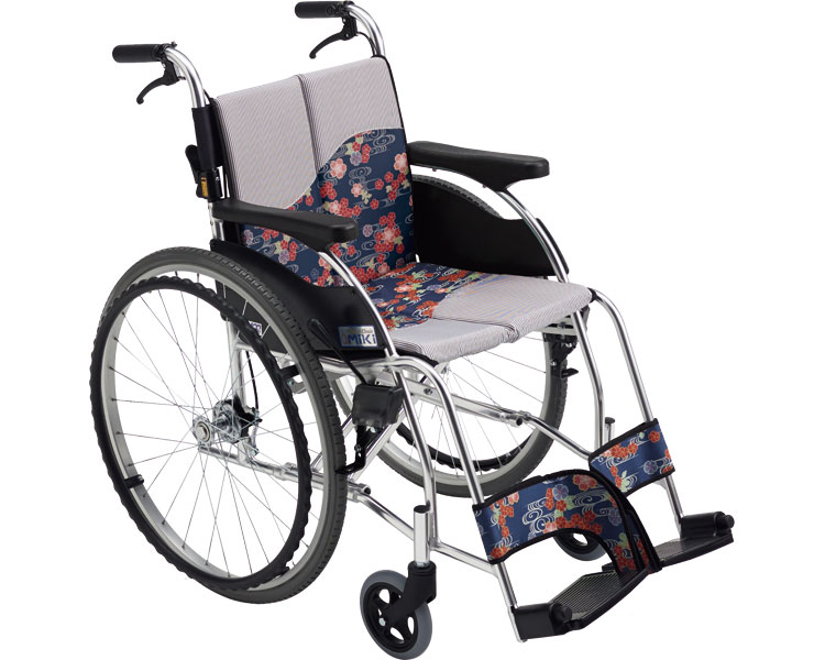 車椅子 着せかえ車いす 自走式車いす MPR-1 Hi ミキ自走用 自走式 車イス オシャレ イメチェン 介護用品 福祉用具