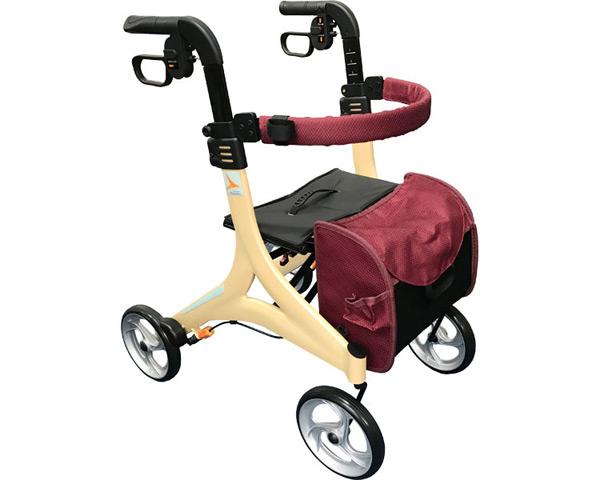 歩行器 ストリーム マルーン MR-20A インタージェット送料無料 介護用品 手押し車 老人 高齢者 歩行補助