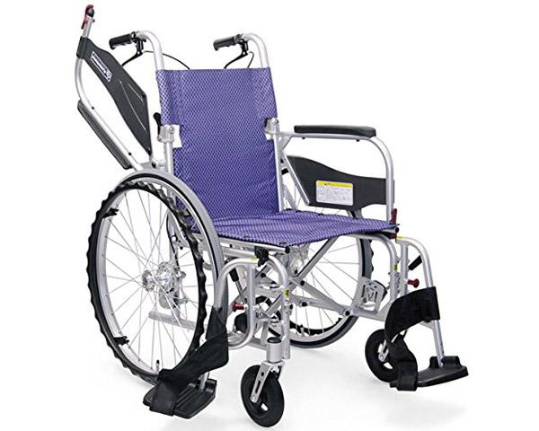 軽量車いす ふわりす+(ふわりすプラス)自走用 KFP22-40・42 カワムラサイクル介護 車いす 車椅子 車イス 自走式 軽量 跳ね上げ式 多機能 高齢者