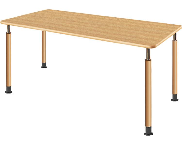 昇降テーブル 2本固定脚+2本キャスター付脚 UFT-4T1675-NKL2(1) 介援隊 介護用品