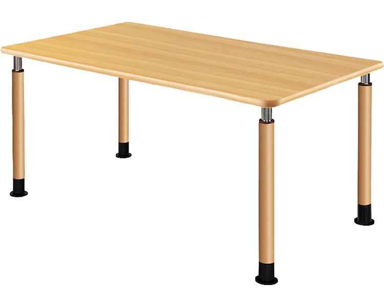 昇降テーブル 2本固定脚+2本キャスター付脚 UFT-4T1690-NKL2(3) 介援隊 介護用品