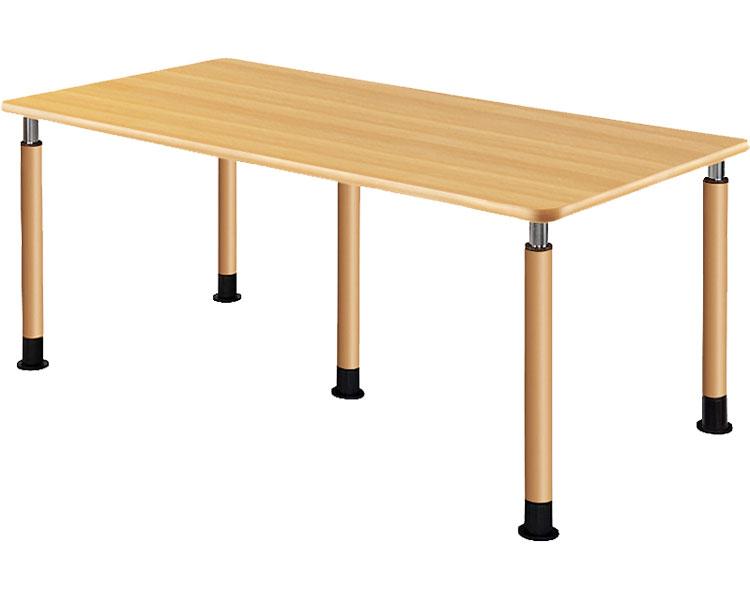 昇降テーブル 3本固定+2本キャスター付脚 UFT-5T1890-NKL2(4) 介援隊 介護用品