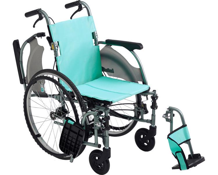 車椅子 自走式 カルティマ自走型 多機能 CRT-7 ミキ車イス 車いす くるまいす 自走 福祉用具 介護用品