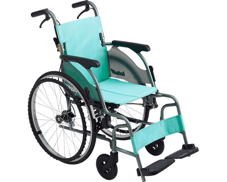 車椅子 軽量 カルティマ自走型 標準 CRT-5 ミキ車いす 車イス 自走式 介護用品 歩行補助