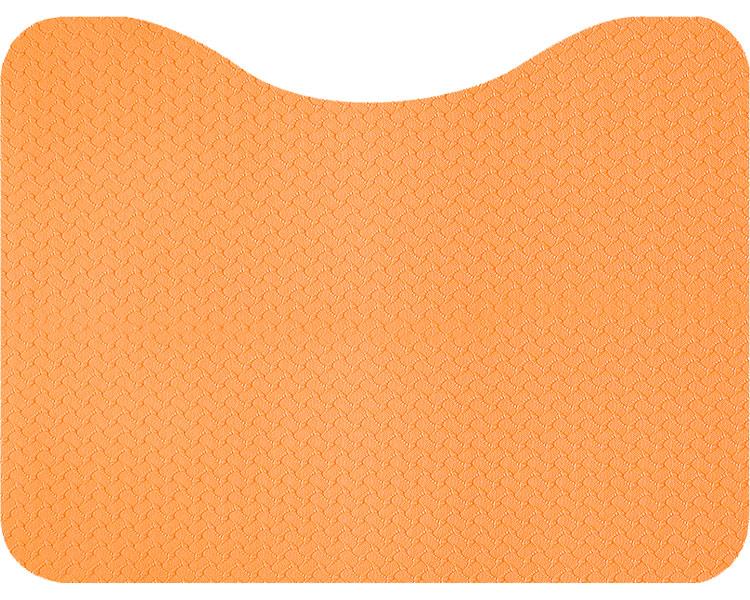 足に力が入るラク~な立ち上がりトイレマット 立ち上がりトイレマット オレンジ AF-37 サンコーマット すべりどめ 滑り止め 転倒防止 高齢者 両面使用 リバーシブル 足元 つまずきにくい 超歓迎された 介護用品 往復送料無料 シニア
