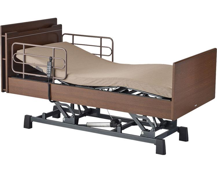 介護 ベッド CARE-UP(ケアアップ) スマートタイプ 昇降3モーター サイドレール付 コイズミファニテック 介護用品