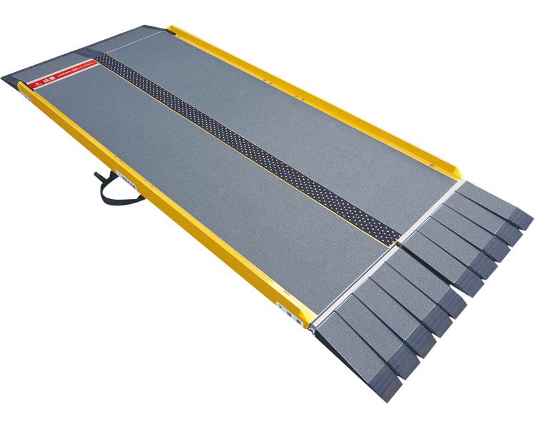 スロープ 段差 車いす用スロープ 段ない・ス FK2800 634-200 長さ280cm シコク段さ解消 段差解消 住宅改修 スロープ 介護用品