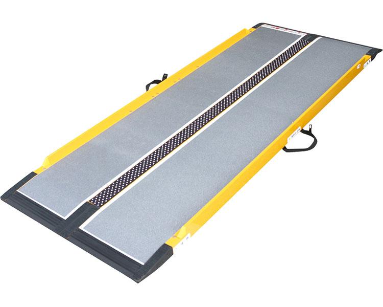 スロープ 段差 段ない・ス68 628-140 長さ125cm シコク段さ解消 段差解消 住宅改修 スロープ 介護用品