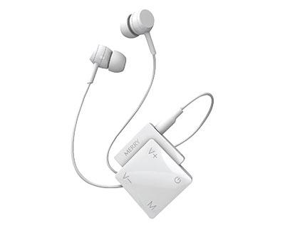 集音器 聞楽(キラク) ME-200P 白 アメディア介護用品