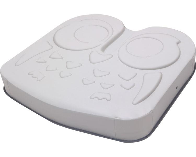 車いす用クッション アウルREHA ミドル(減圧+汎用) OWL26-BK1-4040 加地体圧分散 クッション 床ずれ予防 介護 クッション 高齢者 介護用品 送料無料