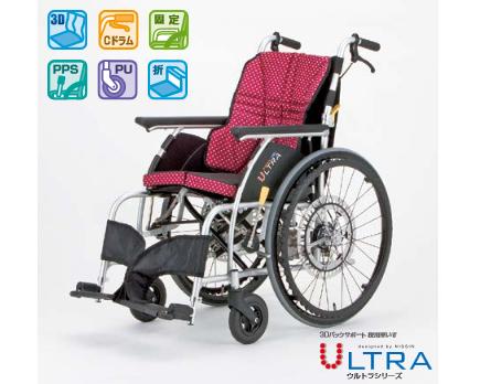 車いす自動安全ブレーキオプション搭載 NA-U1+G-Guard-IIパッケージ 日進医療器車椅子 G-Guard-2 自動ブレーキ 転倒防止 後退防止 安全ブレーキ 介護用品 車イス
