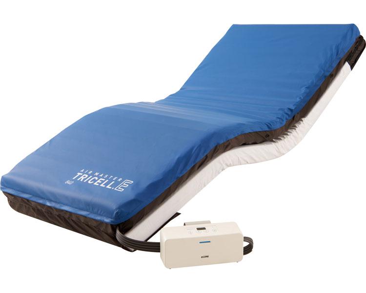 エアマットレス エアマスター トライセルE 上敷きタイプ 幅84cmタイプ CR-330 ケープ体圧分散 マットレス 床ずれ防止用具 福祉用具 高齢者 介護用品 ベッド関連 寝具 送料無料