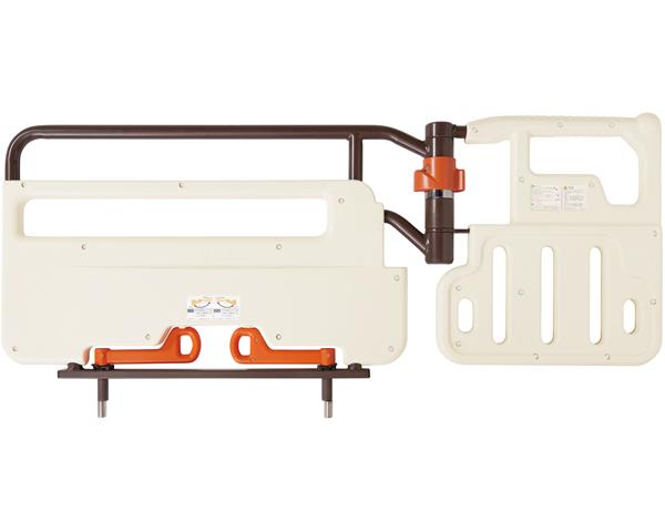 自動ロック式ベッド用グリップ ニーパロ+(プラス) PG02-116AT プラッツ送料無料 介助バー サイドレール ベッド柵 手すり ベッドオプション 介護ベッド用 介護用品 高齢者