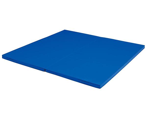 二つ折り投込み練習マット 2×2 T-1831 トーエイライト介護用品 レクリエーション マット 体育用品 投込みマット すもうマット 柔道 スポーツ 防水