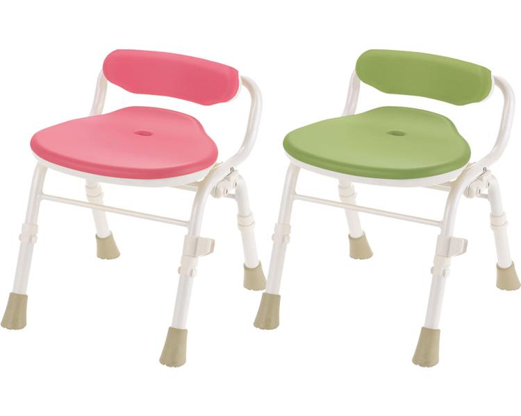 激安大特価! やわらかシャワーチェアクレオ 折りたたみ(防カビプラス) 腰当付390 リッチェルシャワーチェア お風呂 椅子 介護 椅子 介護用品 シャワーいす シャワー椅子 richell 送料無料, 琉球レザーLLA e6ccdef0