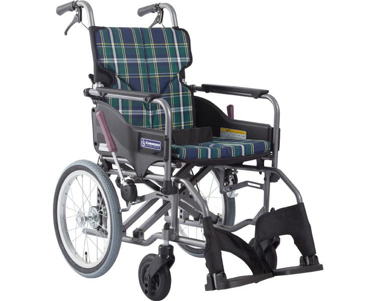 車椅子 モダンシリーズ Aスタイル 標準タイプ(背折れ) KMD-A16-40(42)-M 中床タイプ カワムラサイクル介助式 車いす 車イス ドラム式 高齢者 介護用品 福祉用具