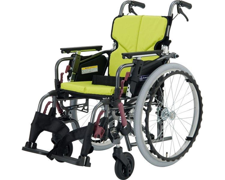 車椅子 モダンシリーズ Cスタイル 多機能タイププラス KMD-C22-40(38/42)-M 中床タイプ カワムラサイクル自走式 車いす 車イス スイングイン・アウト 高齢者 介護用品 福祉用具