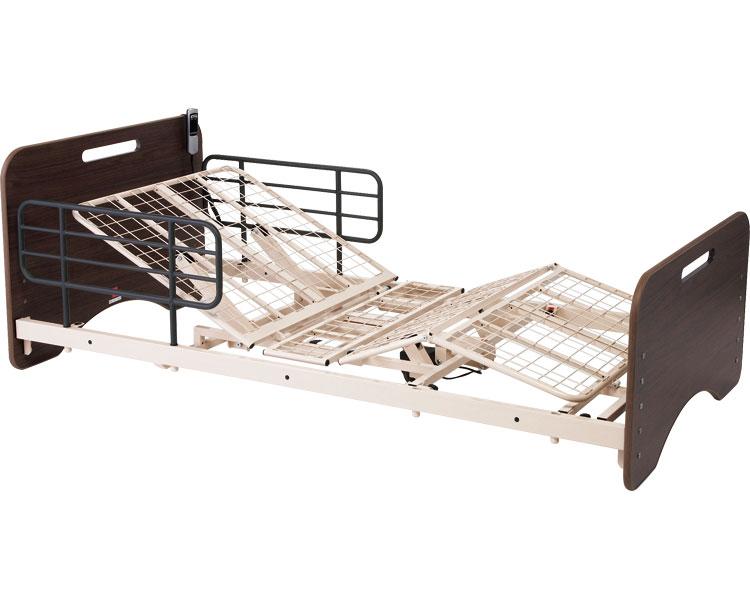 マッキンリーケアベッド オプショナル 1モーター MOB-100 マキテック介護 ベッド サイドレール付 背上げ 脚上げ 介護用品